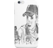 jimmy pop ali sketch iPhone Case/Skin