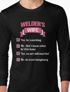 WELDER'S WIFE Long Sleeve T-Shirt