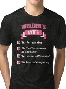 WELDER'S WIFE Tri-blend T-Shirt