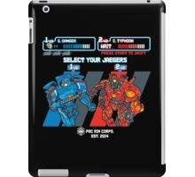 Jaeger Select iPad Case/Skin