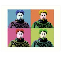 Mugatu Warhol Art Print
