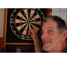 Bulls eye ! Photographic Print
