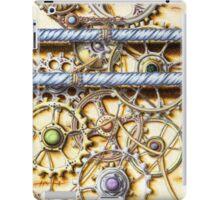 Cogs #4 - coloured pencil iPad Case/Skin