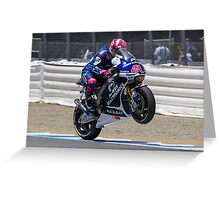 Aleix Espargaro at laguna seca 2013 Greeting Card