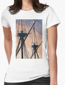 Animated Masts Womens Fitted T-Shirt