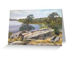 Landscape. Greeting Card