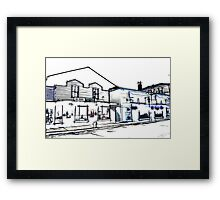 The stores Framed Print