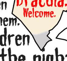 Dracula [ Iphone / Ipod / Ipad / Shirt / Print ] Sticker
