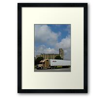 Truck And Mill Framed Print
