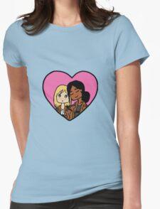 Yumikuri Heart Womens Fitted T-Shirt