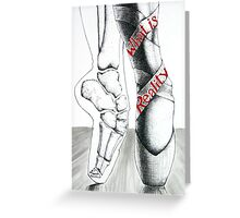 To the Pointe Greeting Card