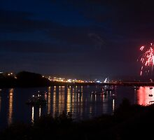 Celebrating Independence Day on the Susquehanna by Gene Walls