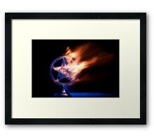 The Impact Of The Inquisition Framed Print