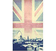 Sherlock London Union Jack Photographic Print