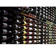 Wine rack Photographic Print