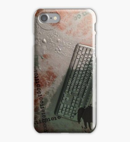 Decay of technology iPhone Case/Skin