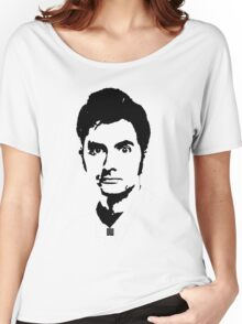 Doctor Who - David Tennant Women's Relaxed Fit T-Shirt