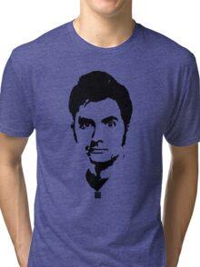 Doctor Who - David Tennant Tri-blend T-Shirt