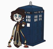 4th Doctor by FeralAntagonist