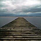 Dock and Sky by jbarnesphotos