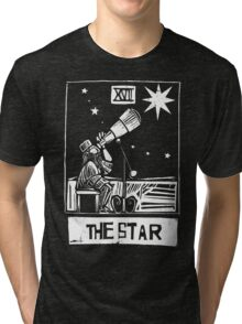 The Star - Tarot Cards - Major Arcana Tri-blend T-Shirt