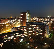 Delft at night by SNDynasty
