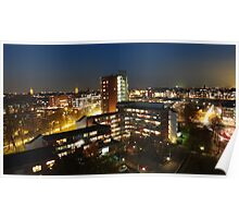 Delft at night Poster