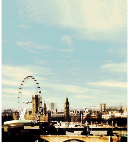 sherlock's london Sticker