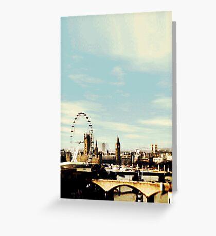 sherlock's london Greeting Card
