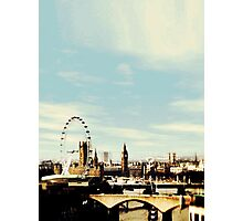 sherlock's london Photographic Print