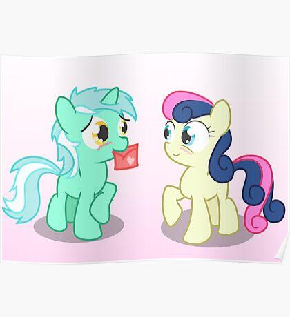 Lyra and Bonbon Poster