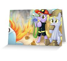 Derp fire Greeting Card