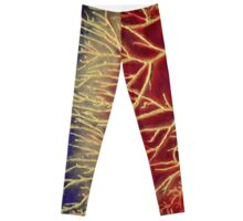 """Moonlit Forest No.2"" original abstract artwork Leggings"