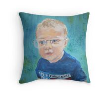 Baby Zachary Throw Pillow