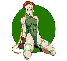 STREET FIGHTER - CAMMY Photographic Print