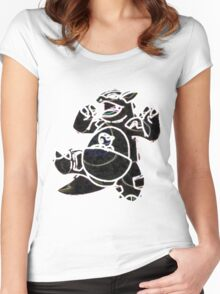 Kangaskhan Women's Fitted Scoop T-Shirt