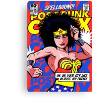 Post-Punk Super Friends - Wonder Canvas Print