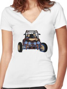 Dune Buggy (Digital Duesday #2) Women's Fitted V-Neck T-Shirt