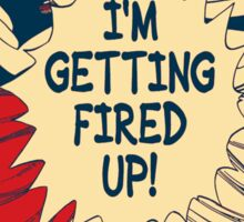 Fairy Tail Fired Up (Hope) Sticker