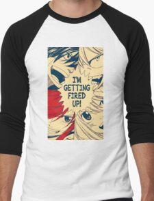 Fairy Tail Fired Up (Hope) Men's Baseball ¾ T-Shirt