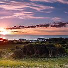 Sunset Panorama by fotosic
