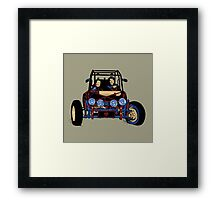 Dune Buggy (Digital Duesday #2) Framed Print