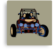 Dune Buggy (Digital Duesday #2) Canvas Print