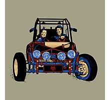 Dune Buggy (Digital Duesday #2) Photographic Print