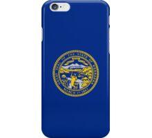 Smartphone Case - State Flag of Nebraska - Horizontal iPhone Case/Skin