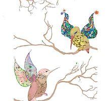 Bird Talk by DreamtimeArt