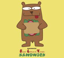 BLT - Bear's Lettuce & Tomato Sandwich Kids Clothes