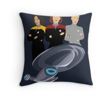 Girls Just Wanna Explore Uncharted Parts Of The Galaxy Throw Pillow