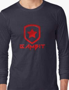 Gambit Gaming Future Logo Long Sleeve T-Shirt