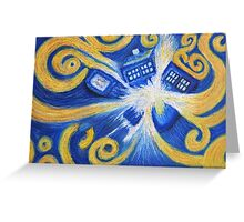 The Pandorica Opens Greeting Card